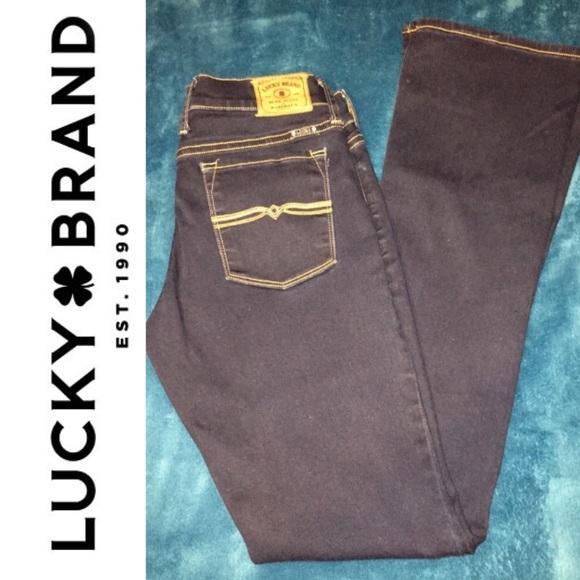 Lucky Brand Denim - Lucky Brand CHARLIE BABY BOOT women's Jeans